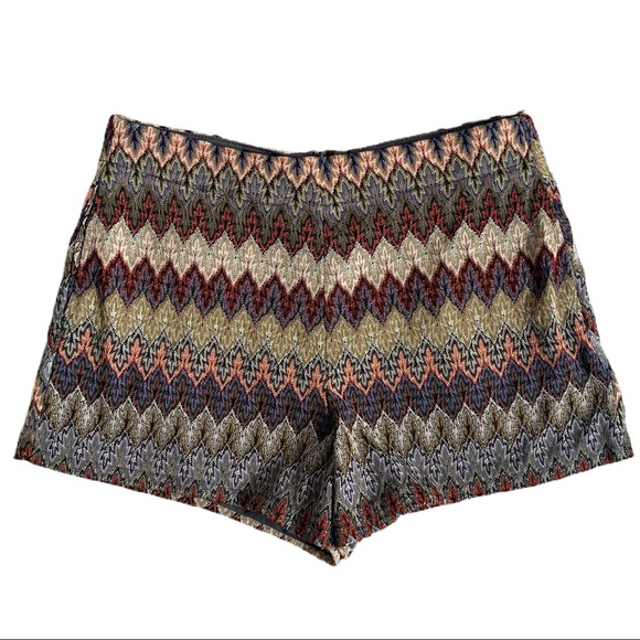 Ark & Co Patterned Dress Shorts